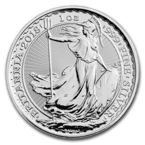 ブリタニア銀貨へリンク