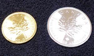 金貨・銀貨コレクション