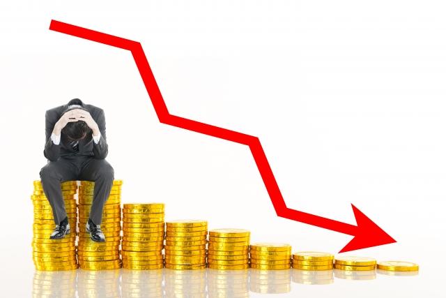 プラチナ価格は下落している