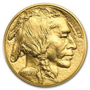 2020年バッファロー金貨表面