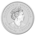 2020年干支銀貨表面