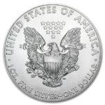 2020年イーグル銀貨裏面