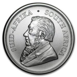 2020年クルーガーランド銀貨表面