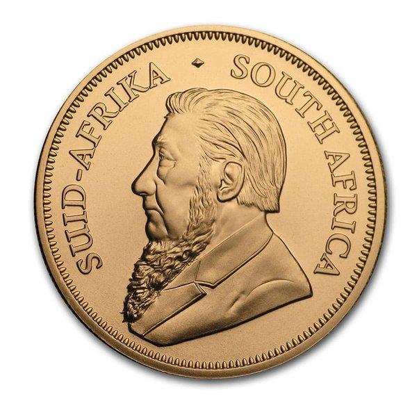 2020年クルーガーランド金貨表面