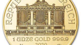 2020年ウィーン金貨表面